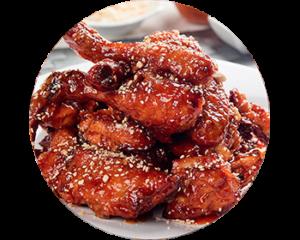Sweet & Extra Spicy Chicken