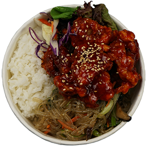 Korean Style Chicken CupBop